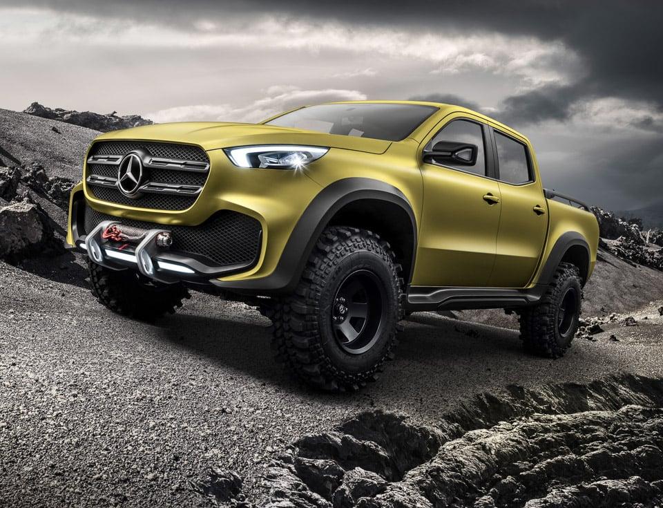 Mercedes-Benz X-Class Won't Get an AMG Version: Awww Man