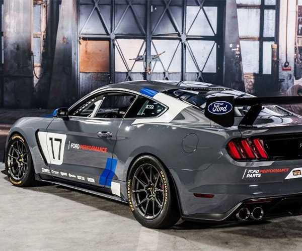 Ford Performance Unveils Mustang GT4 Turnkey Race Car