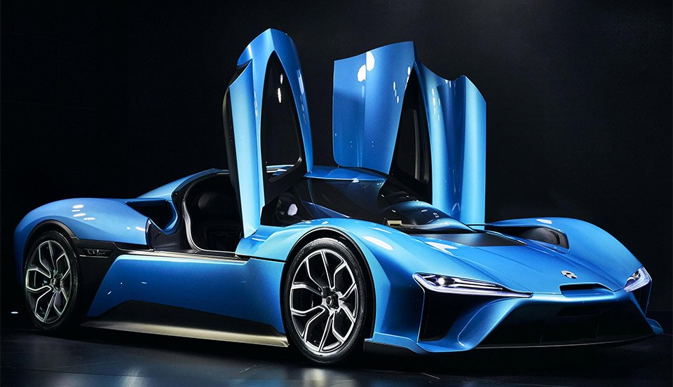 NIO EP9 Electric Supercar Breaks Nürburgring EV Record