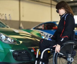 Paralysis Didn't Stop This Woman from Racing Porsches