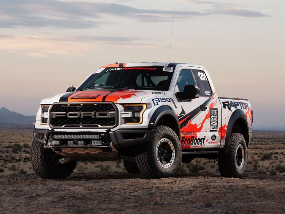 2017 Raptor to Take on SCORE Baja 1000