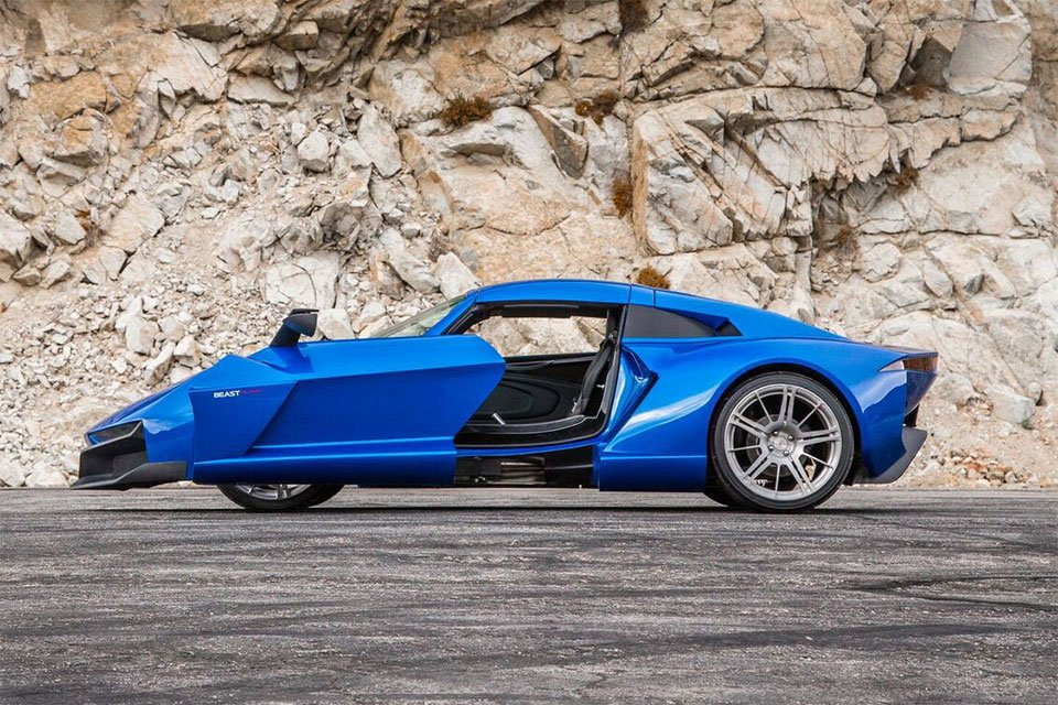 2017 Rezvani Beast Alpha Packs Crazy Doors and 500hp