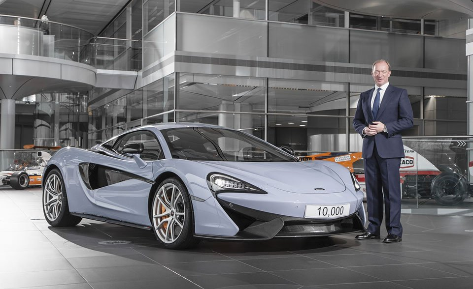 McLaren Builds it's 10,000th Car