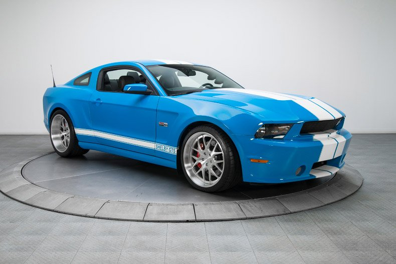 Rare 2012 Shelby Mustang GTS Wide Body Prototype Hits eBay