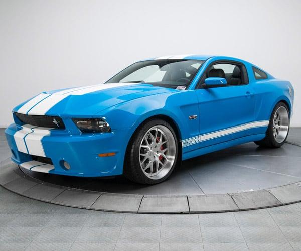 Rare 2012 Shelby Mustang GTS Wide Body Prototype Hits eBay