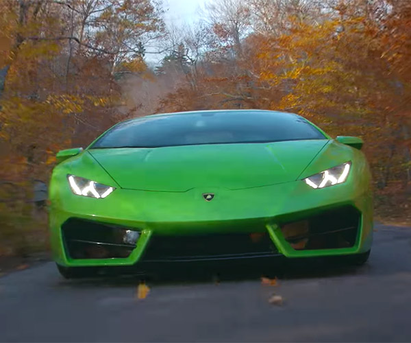 Lambo Huracán LP 580-2 Gets Put Through Its Paces