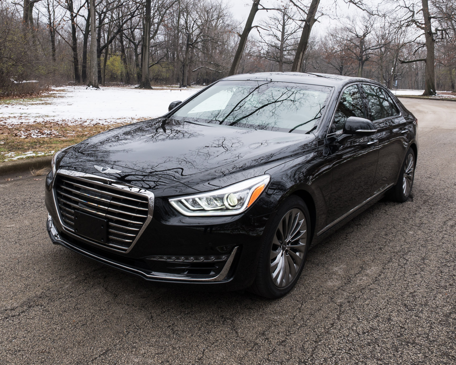 Review 2017 Genesis G90 5 0 Ultimate