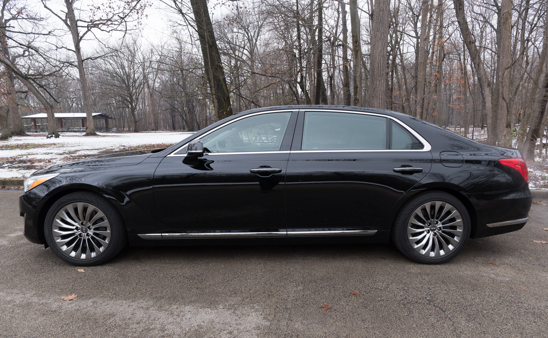 Review 2017 Genesis G90 5 0 Ultimate 95 Octane