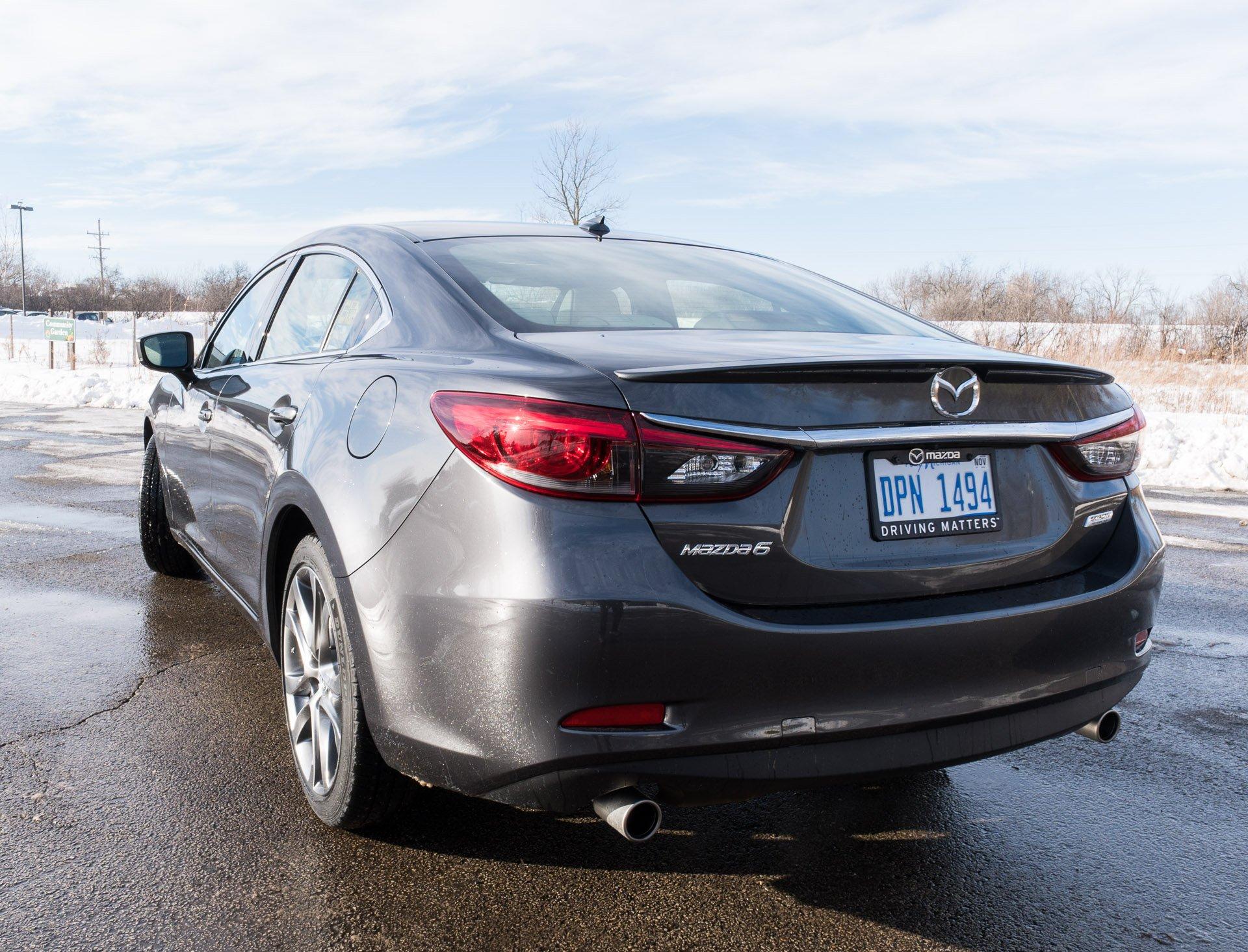 Mazda Mazda Grand Touring Mpg