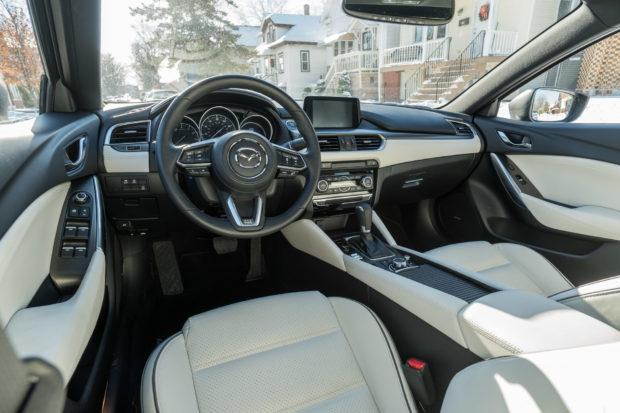 Review 2017 Mazda6 Grand Touring 95 Octane