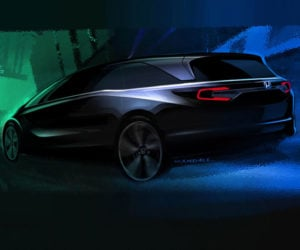 2018 Honda Odyssey Teased with Kids' Drawings