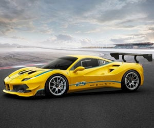 Ferrari 488 Challenge Ready for Turbocharged Racing Action