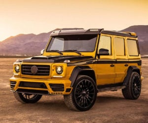 Mansory Wide-Body Mercedes G-Class is the Rapper's Delite