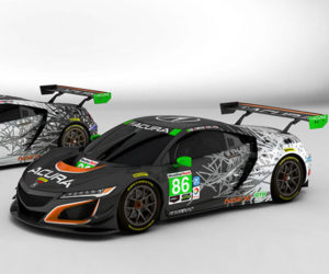 Acura NSX GT3 Race Liveries Looks Sweet