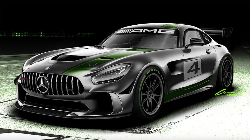 Mercedes-AMG GT4 Racer
