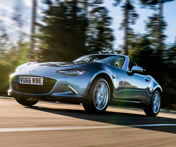 Mazda MX-5 Arctic is a UK Exclusive with Frozen Style