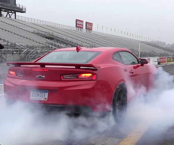 The Wonderful Exhaust Sounds of the 2017 Camaro ZL1