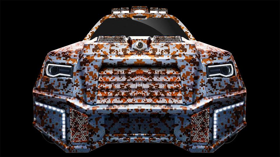 Dartz Black Alligator SUV Is The Ultimate Ride for Dictators