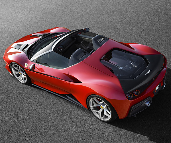 Ferrari J50 Raises the Roof in Japan