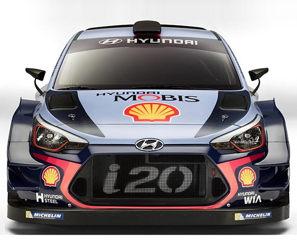 Hyundai's New i20 WRC Car Is a Real Badass