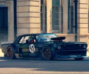 Ken Block Drifts London in Footage That Didn't Make Top Gear