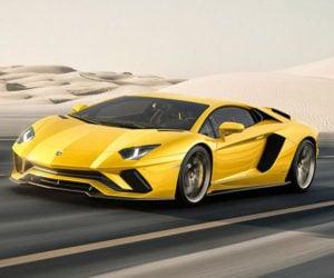 Lamborghini Aventador S: The S is for Schwing!