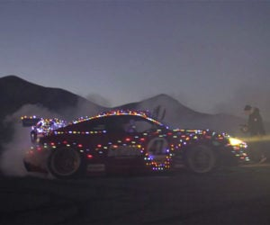 Oh What Fun It Is to Ride a Ferrari-Toyota 86 Sleigh