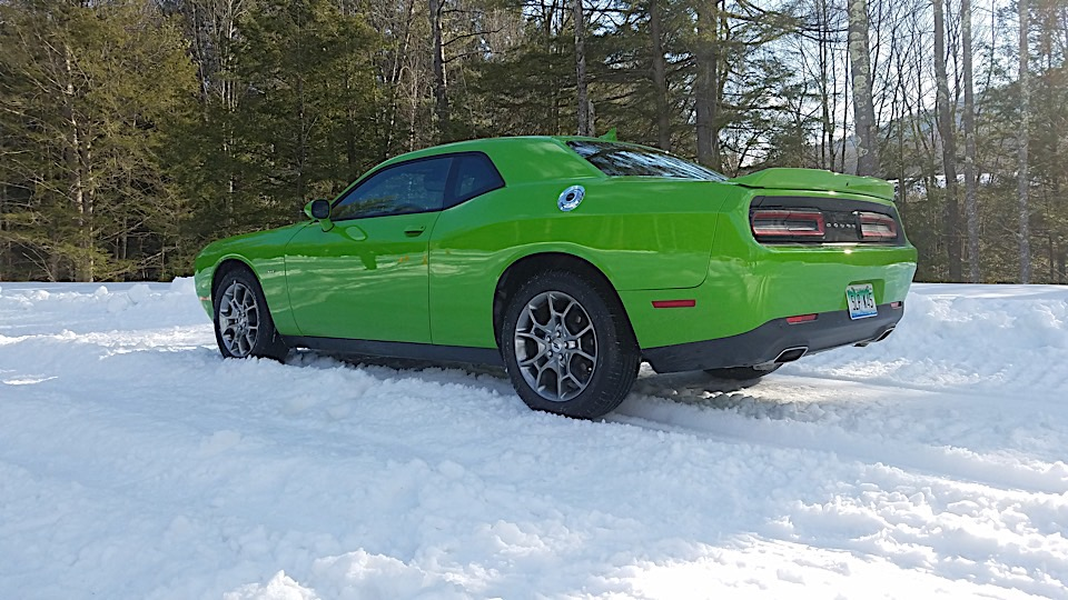 New Dashing Through The Snow In The AWD Dodge Challenger GT