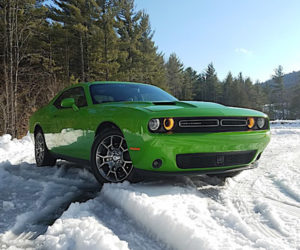 Dashing Through the Snow in the AWD Dodge Challenger GT