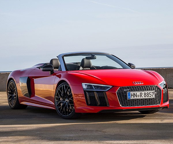 2017 Audi R8 Spyder Looks Great, Costs More Than a House