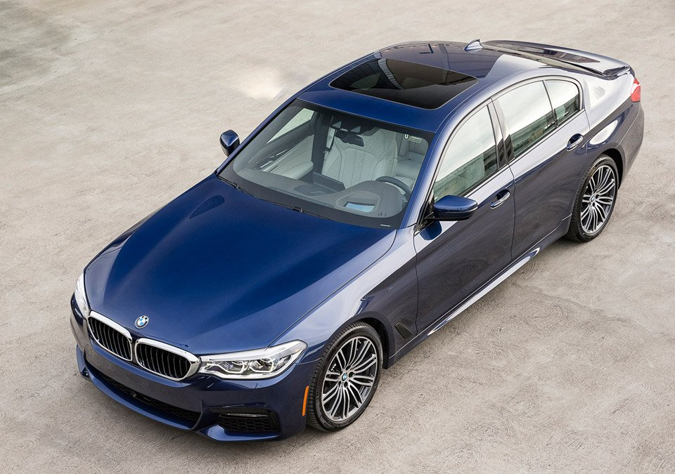 First Drive Review: 2017 BMW 540i