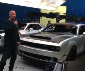 Did Vin Diesel Leak the Challenger SRT Demon?
