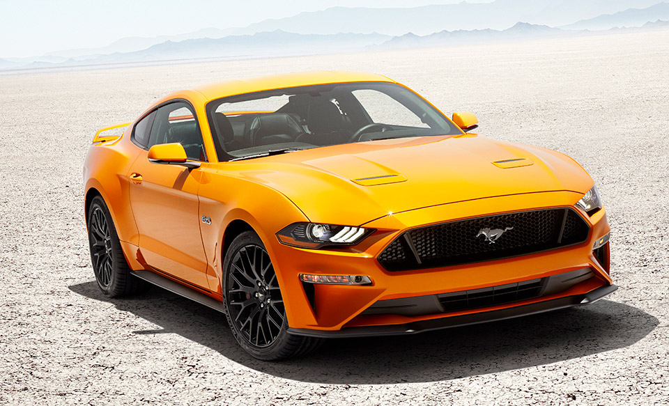 2018 Ford Mustang Gets Design, Performance Refinements