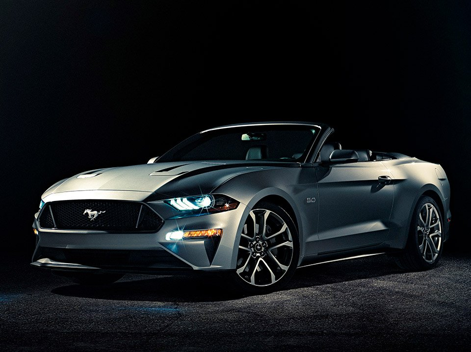 2018 Ford Mustang Convertible Revealed 95 Octane