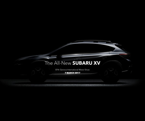 2018 Subaru Crosstrek Teased