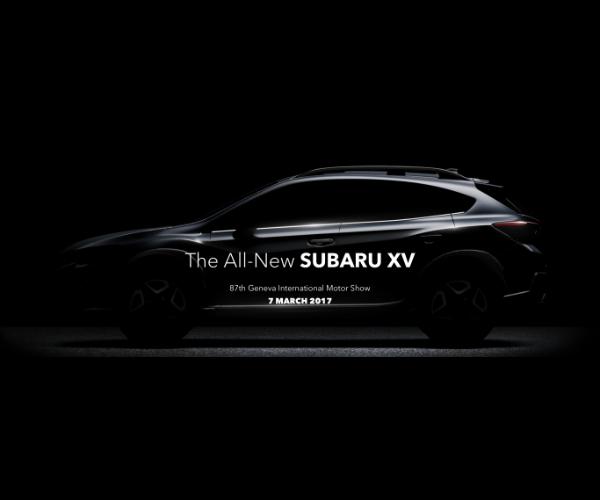 2018 Subaru Crosstrek Teased
