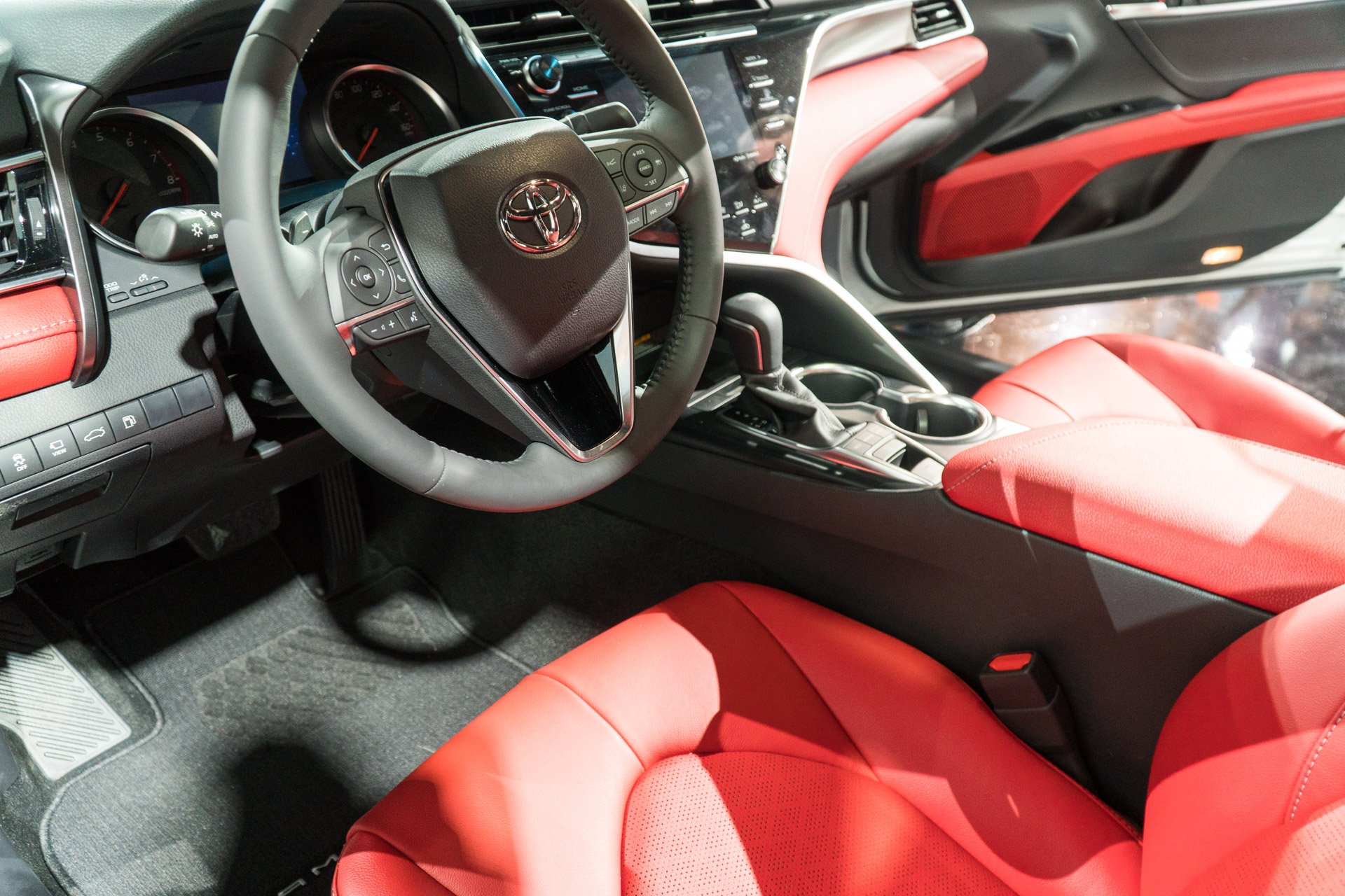 2018 toyota white camry with red interior. brilliant toyota iu0027m pretty excited to see toyota take some risks with the redesign of  camry and if its new driving dynamics live up looks 2018 camry could  inside toyota white camry red interior 0
