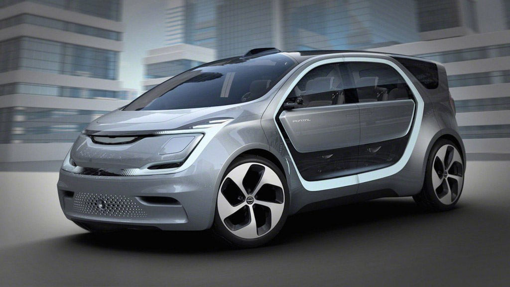Chrysler Portal Concept EV is the People Hauler of the Future