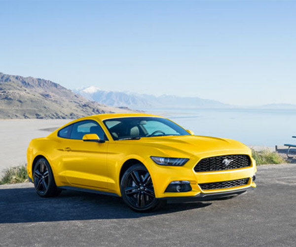 ford working  mustang hybrid