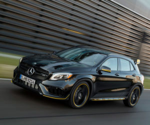 Mercedes-Benz GLA45 with AMG Performance Studio Package