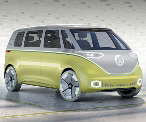 VW I.D. Buzz Concept is the Mini Bus Refresh We've All Wanted