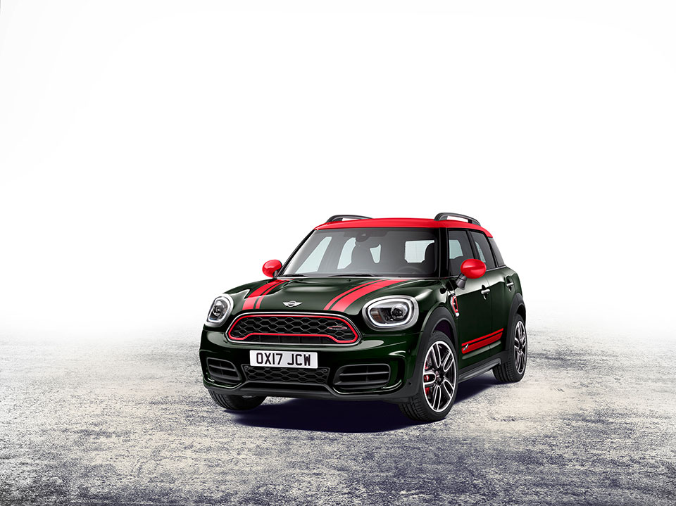 2018 MINI John Cooper Works Countryman Gets More Everything