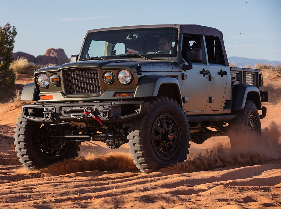 Three New Jeeps Going into Production