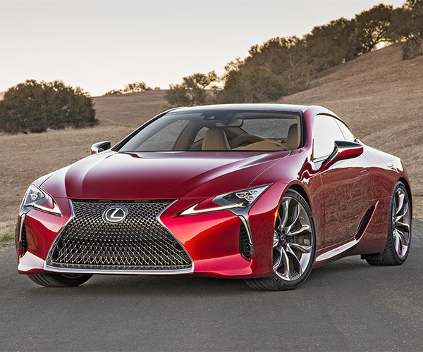 Lexus: 2018 Lexus LC 500: Lexus Moves Into The Fast Lane