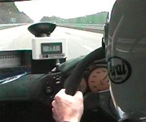 Video of the McLaren F1 Breaking 240 mph is Awesome