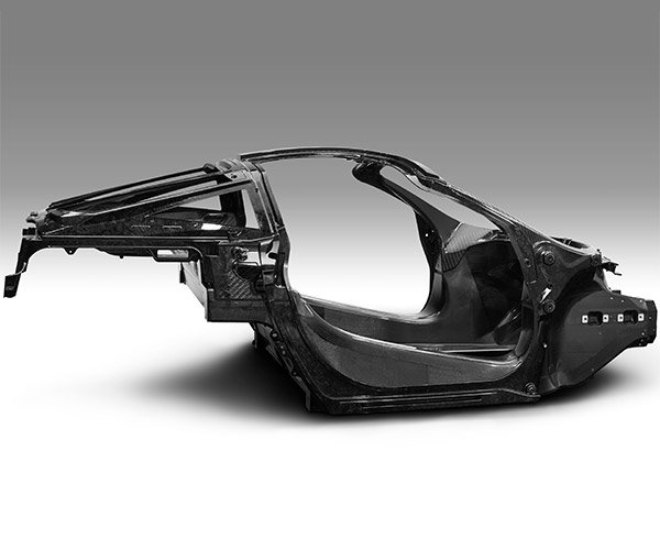 McLaren Shows off Chassis for 650S Replacement