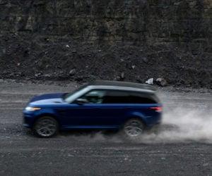 Range Rover Sport SVR Goes Fast on All Terrains