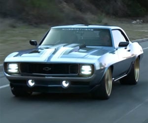 Jay Leno Wrings out Ring Brothers' 1969 G-Code Camaro