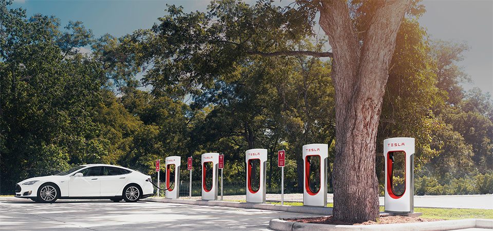 Tesla Supercharger May Not Be Free, But It's Cheaper than Gas