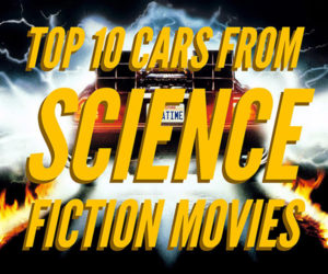 The Top 10 Cars from Sci-Fi Movies
